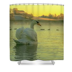 Living In Hope Shower Curtain