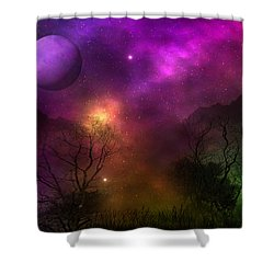 Shower Curtain featuring the photograph Living In Oz by Bernd Hau