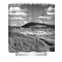 Living Off The Land Shower Curtain by Kathi Mirto