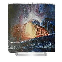 Living Out Loud Shower Curtain