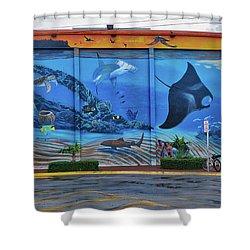 Living Reef Mural Shower Curtain