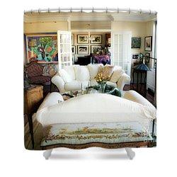 Living Room Iv Shower Curtain by Madeline Ellis