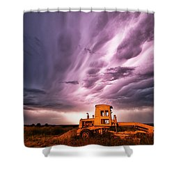 Living Sky In Nebraska Shower Curtain