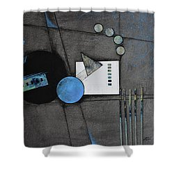 Living The Width Of Life Shower Curtain