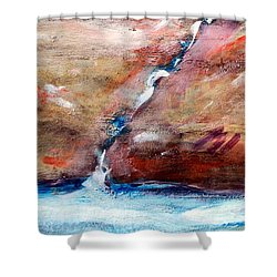 Living Water Shower Curtain