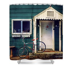 Livingston Bicycle Shower Curtain