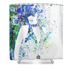 Liza Minnelli Cabaret Shower Curtain by Naxart Studio