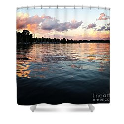 Lkn Water And Sky II Shower Curtain