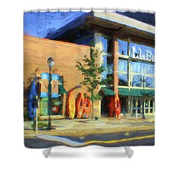 Ll Bean Store At The Promenade In Pa Shower Curtain by Heinz G Mielke