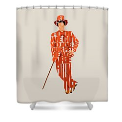 Lloyd Christmas Shower Curtain