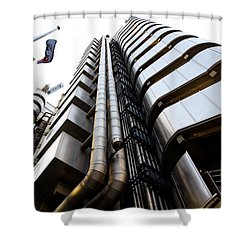 Lloyds Building London  Shower Curtain