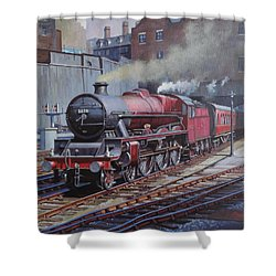 Lms Jubilee At New Street. Shower Curtain