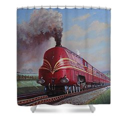 Lms Stanier Pacific Shower Curtain