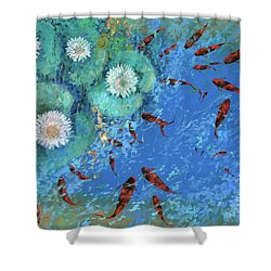 Lo Stagno Shower Curtain