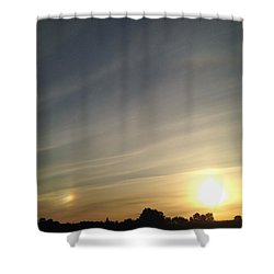 Lobbing Rainbows Into The Sun Shower Curtain