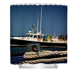 Lobster Boat I Shower Curtain
