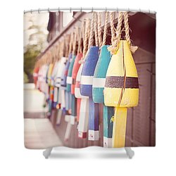 Lobster Floats Shower Curtain