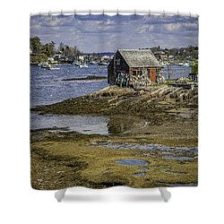 Lobster Shanty Shower Curtain