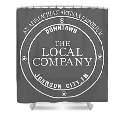 Local Shower Curtain by Heather Applegate