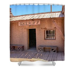 Local Sheriff Tucson Shower Curtain