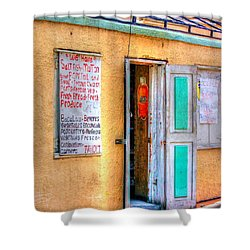 Local Store Shower Curtain by Debbi Granruth