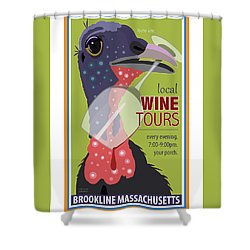 Local Wine Tours Shower Curtain