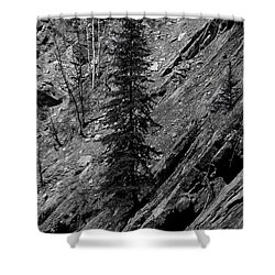 Shower Curtain featuring the digital art Location Location Location by Stuart Turnbull