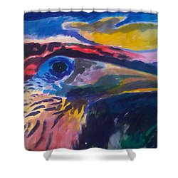 L'occhio Del Tucano Shower Curtain