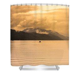 Loch 1 Shower Curtain