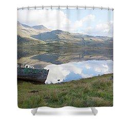 Loch Beg Reflects Shower Curtain