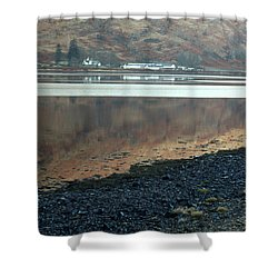 Loch Linnhe Reflection Shower Curtain