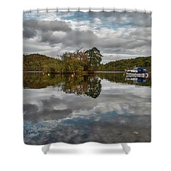 Loch Lomond At Aldochlay Shower Curtain
