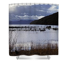 Shower Curtain featuring the photograph Loch Lomond by Jeremy Lavender Photography