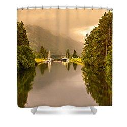 Lock Ahead Shower Curtain