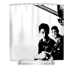 Lock, Stock And Two Smoking Barrels Shower Curtain