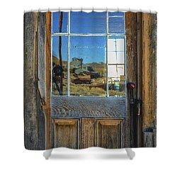 Locked Up Memories Shower Curtain by Mitch Shindelbower