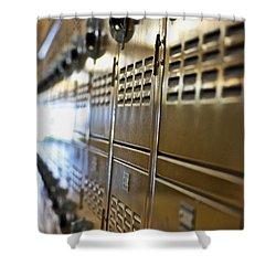 Lockers Shower Curtain
