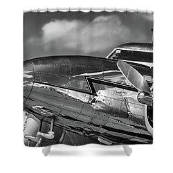 Lockheed Splendor Shower Curtain