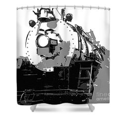 Locomotion Shower Curtain by Richard Rizzo