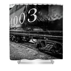 Locomotive Engine Shower Curtain