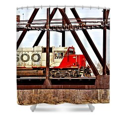 Locomotive Number 4429 Shower Curtain