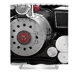 Locomotive Number Five Shower Curtain