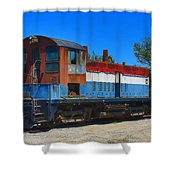 Locomotive Shower Curtain