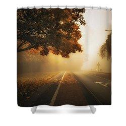Lode Lane Shower Curtain by Chris Fletcher
