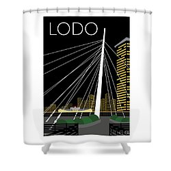 Lodo By Night Shower Curtain