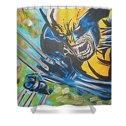 Logan Time Shower Curtain
