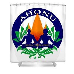 Logo Of Ahonu.com Shower Curtain