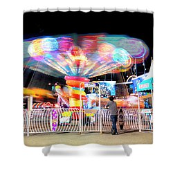 Lolipop Wheel- Shower Curtain