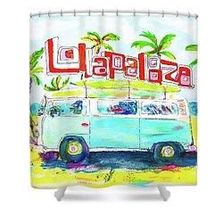 Lollapalooza Shower Curtain