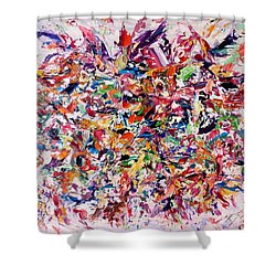 A Walk In The Field Shower Curtain